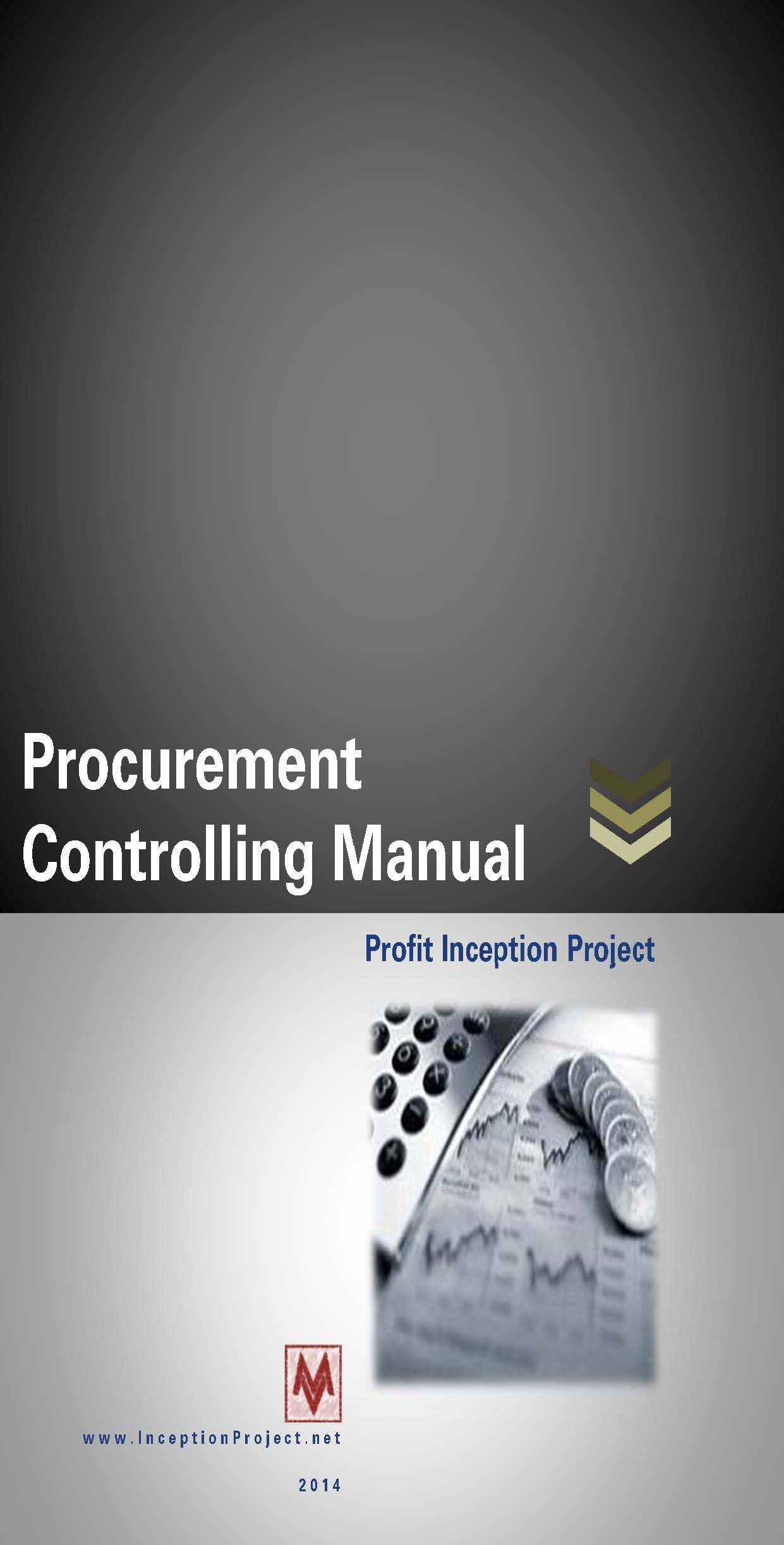 Procurement controlling manual profit inception project cover 1controlling fandeluxe Choice Image